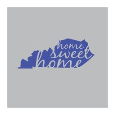 Kentucky Home Vinyl Decal for your car home by TheKennedysSix, $8.99