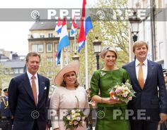 Noblesse & Royautés » Dutch Royal Visit to Luxembourg-Grand Duke Henri and Grand Duchess Maria Teresa, Queen Maxima and King Willem-Alexander