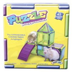 Super Pet® Puzzle Playgrounds Small Animal Junglegym | Toys  Habitat Accessories | PetSmart