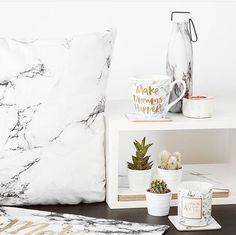 Marble in Primark Blush Bedroom, Dream Bedroom, My New Room, My Room, Dorm Room, Primark Homeware, Marble Bedding, Home Interior Design, Interior Decorating