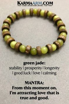 Beaded Bracelets | Reiki Healing | Mens & Womens Yoga Jewelry | #Jade is an ancient stone that has historically been used to attract love. #BoHo #zen #reiki #Bracelets #BEADED #Gemstone #Mens #GiftsForHim #Lucky #womens #Jewelry #gifts #Chakra #FitMom #Gifts #Blog # #wisdom #CrystalEnergy #Spiritual #Gifts #Blog #Mommy #Meditation #prayer #mindfulness #Healing Kundalini #LawofAttraction #LOA #Love #Mantra #Mala #friendship #MothersDay #BachelorNation