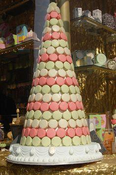 Laduree Macaron Tower