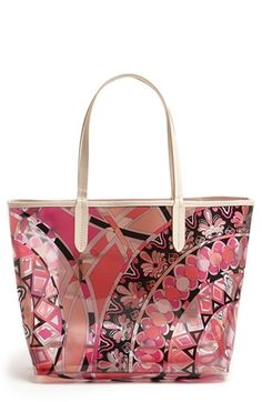 Emilio Pucci 'Small' Print Tote available at #Nordstrom