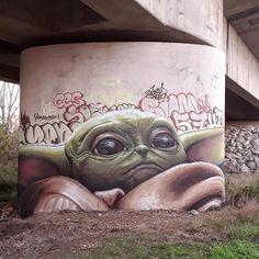 Street art yoda graffiti, it is - nimivo sites Graffiti Art, Street Art Banksy, Graffiti Tumblr, Street Art Utopia, Graffiti Quotes, Urban Street Art, Urban Art, Photographie Street Art, Urbane Kunst