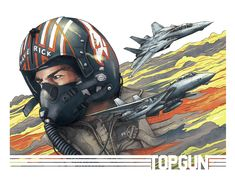 Our weekly column features artwork from fans and pros alike. This week features interpretations of Aquaman, Deadpool, IT, The Sandlot, Top Gun and more! Best Movie Posters, Movie Poster Art, Top Gun, Tomcat F14, Jet Fighter Pilot, Pin Up Cartoons, Badass Movie, Character Art, Character Design