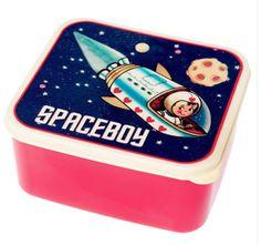 Fun Spaceboy Bento Box for lunches