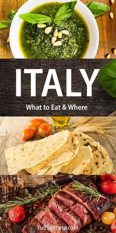 Italy food guide by region - traditional Italian food to try in each region #italyfood #italianfood Italy Destinations, Pork Meat, Italy Food, Regions Of Italy, Street Food, Wine Recipes, Italian Recipes, Travel Inspiration, Traditional Italian Food