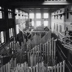 Our 110,000 Pipe Longwood Organ at the Aeolian factory, 1929. Now at Longwood Gardens, Kennett Square, Pennsylvania, USA.
