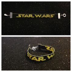 Star Wars bead loom pattern I found here on Pinterest and copied. It came out AWESOME! This is not my original design