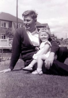 My Dad and I - Harewood Crescent, Lincoln 1963