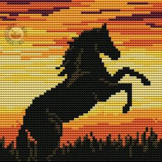 VK is the largest European social network with more than 100 million active users. Cross Stitch Horse, Cross Stitch Art, Cross Stitch Animals, Cross Stitch Flowers, Cross Stitching, Cross Stitch Patterns, Loom Beading, Beading Patterns, Seed Bead Patterns