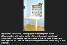 Craft storage. | So, There's A Pinterest For Dudes Now