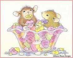Happy Valentine's Day mice