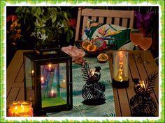 Partylite, Tea Light Holder, Bunt, Iridescent, Tea Lights, Outdoor Living, Exotic, Table Decorations, Glass