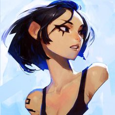 Faith Conners by Sam's Sketchies - Mirror's Edge