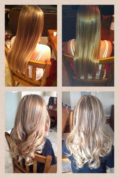 Balayage highlights ash blonde