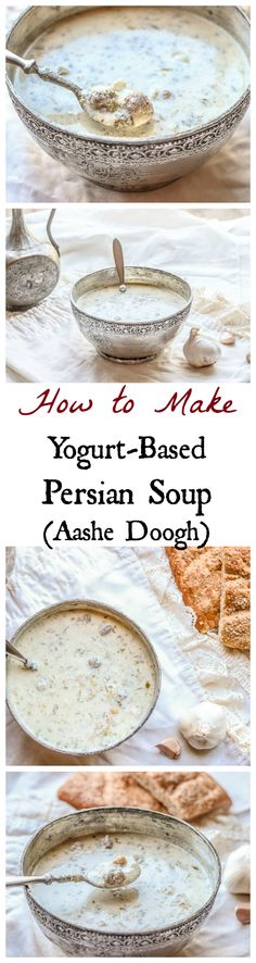 This authentic Azeri Persian comfort soup is SO good and healthy. Easy to make too!