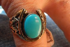 size 11  sterling turquoise ring Native American Jewelry Native American ring southwest jewelry Navajo jewelry Texas pow wow tribal jewelry by LittleCherokeeValley on Etsy