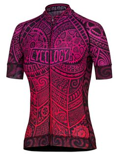 One Tribe (scarlett) women's cycling jersey from Cycology. #cycology, #jersey