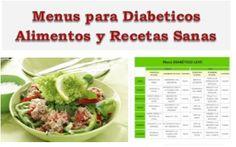menu y dieta para diabeticos