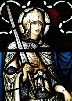 Stained glass by Sir Edward Burne-Jones, 1918