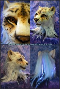 Legitimately one of the most beautiful fursuit heads that I've ever seen. I want it so badly! Augh! <3