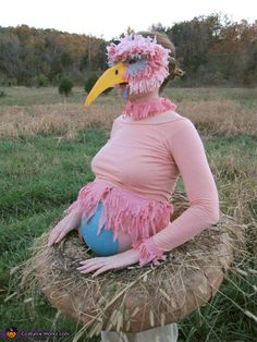 Mama Bird sitting on Egg - 2013 Halloween Costume Contest via @costumeworks