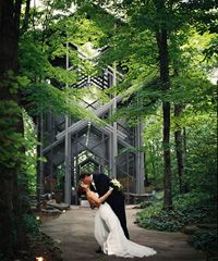 The Thorncrown Chapel. In Arkansas. I would kill(well maybe not quite) to have my wedding in this chapel