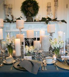 the Annual Christmas Tea - home entertaining,la fete,la fete weddings,new years,table design