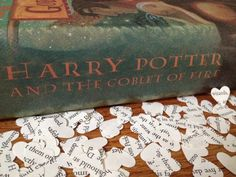 Harry Potter Book Page Confetti  Wedding Decor by TheThriftyGifter, $2.75
