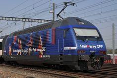 Re 460 050-8 mit der Rail a Way Werbung