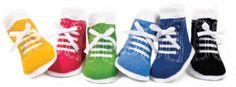 Johnny Socks - Sneaker socks for your little tots. www.ShopWeaverDistribution.ca/collections/trumpette