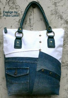Handtasche - Tasche ● Vintagelook ● Unikat Poco Loco - ein Designerstück von PocoLoco bei DaWanda