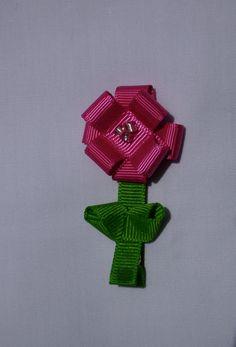ribbon flower @theredtulipshoppe $2.50