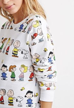 Peanuts Graphic Sweater | Forever 21