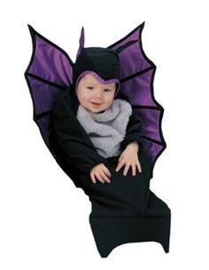 Baby Bat Bunting Infant Costume #baby vampire costume #baby bat costume #bat wings costume