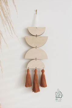 Inspired by Moroccan aesthetic of archways, deep rich colours balanced with neutral tones; these wall hangings are a perfect complement to any home as a stand-alone piece or intertwined amongst your beautifully curated gallery of photos, baskets or curios. Using maple wood each piece is handcrafted with stainless steel gold/antique rose gold connectors and finished with luxurious tassels. Every wall hanging is truly one-of-a-kind due to the variation of the wood grain. Ceramic Pots, Green Copper, Color Balance, Antique Roses, Geometric Wall, Beautiful Wall, Neutral Tones, Clay Art, Wall Hangings