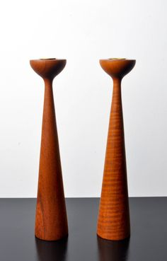 Danish Modern Candle Holders by NeatoVintage on Etsy, $65.00