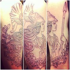 athena's shield tattoo - Google Search