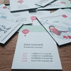 Business cards Rike Trunzer