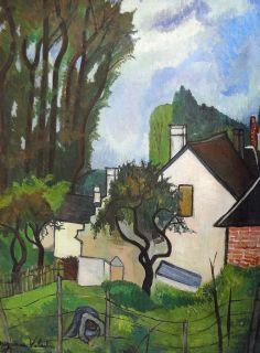 Suzanne Valadon - Landscape at the Old Mill  ♥ Inspirations, Idées & Suggestions, JesuisauJardin.fr, Atelier de paysage Paris, Stéphane Vimond Créateur de jardins ♥