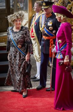 The Dutch Royal Family celebrated the Prinsjesdag 2012