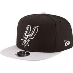 New Era Men's San Antonio Spurs 9Fifty Adjustable Snapback Hat, Team