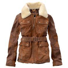 Timberland - Women's Earthkeepers® Abington Leather Jacket