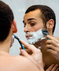 Campaign for Safe Cosmetics:Men's Products are toxic too. The average man uses 6 products a day containing more than 80 unique chemicals   Green Guys