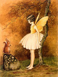 Fairy themed room