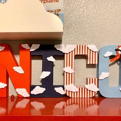 Natalie Berghoudian added a photo of their purchase Minnie Mouse Party Decorations, Blue Party Decorations, Vintage Airplane Party, Vintage Airplanes, Baby Boy 1st Birthday, Boy Birthday Parties, Birthday Ideas, Party Props, Party Ideas