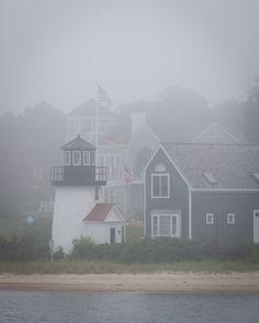 fall fog ~ nantucket.                                                       …