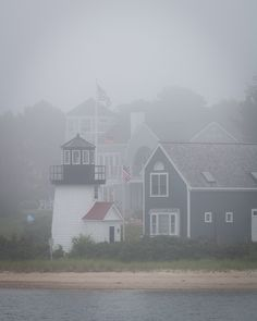 fall fog ~ nantucket.