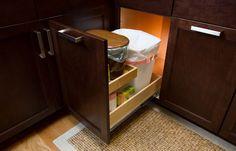 Tidy your trash storage area!